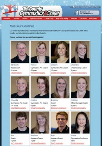Tri-County Gymnastics Coaches
